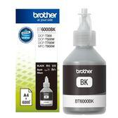 Brother BT6000BK 原廠墨水匣(適用DCP-T300,DCP-T500W,DCP-T700W,MFC-T800W)另有BT5000C/M/Y