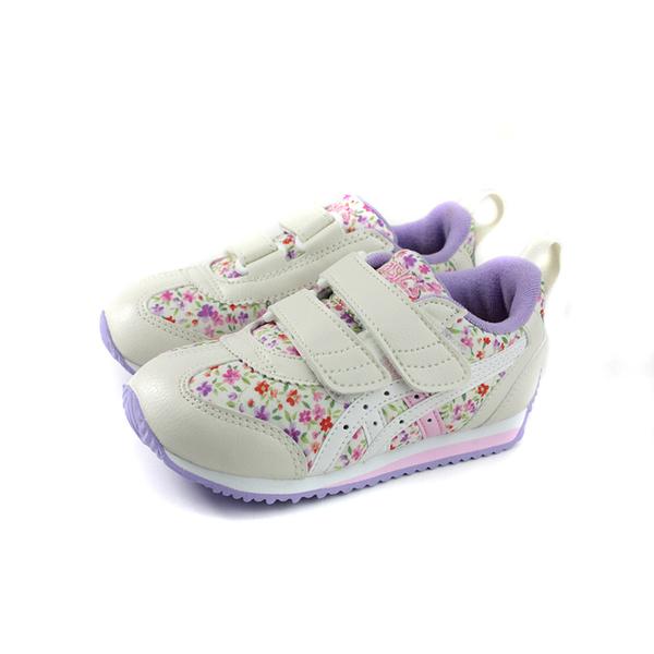 亞瑟士 ASICS IDAHO MINI CT-3 運動鞋 白/紫 花卉 中童 TUM187-500 no436