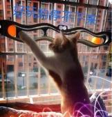 貓吸盤軌道球玩具墻面玩具逗貓波浪球