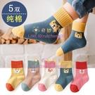兒童襪子秋冬款純棉襪男女童中筒襪學生四季卡通寶寶襪子【奇妙商舖】