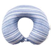 萊卡涼感舒壓頸枕 藍色