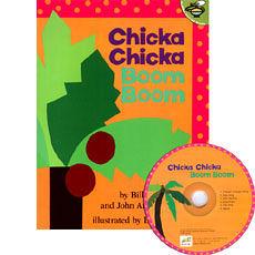 『鬆聽出英語力--第46週』『繪本123‧吳敏蘭老師書單』-- CHICKA CHICKA BOOM BOOM /英文繪本+CD
