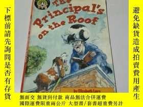 二手書博民逛書店the罕見principal s on the roof(英文,