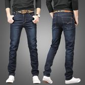 秋冬季加絨男士牛仔褲男商務直筒寬鬆休閒大碼青年韓版修身長褲子 時尚芭莎
