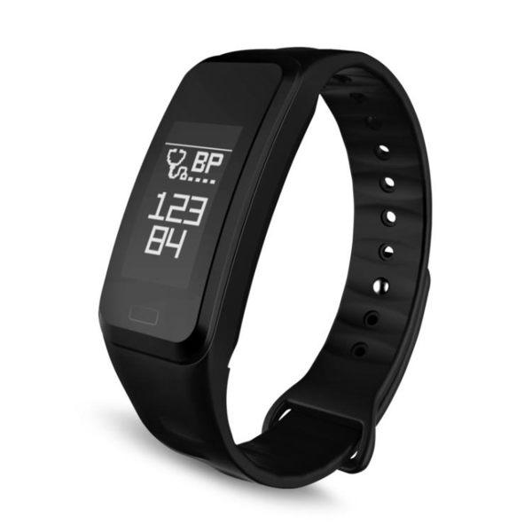 店長推薦▶智能手環測心率血壓血氧睡眠監測計步防水運動健康手表安卓蘋果R1