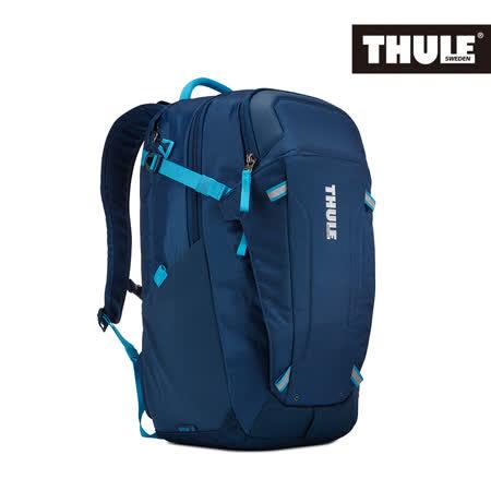 THULE 都樂-EnRoute Blur 2筆電後背包TEBD-217(忠欣公司貨)-海藍