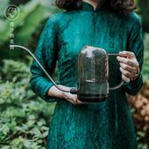 塔莎的花園家用樹脂澆花水壺施肥壺長嘴灑水壺淋花盆栽澆水器 卡布奇诺igo