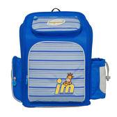 IMPACT 怡寶 新一代標準型輕量護脊書包 經典條紋 IM00703RB 寶藍