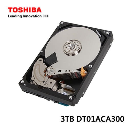 Toshiba 3TB3.5吋硬碟
