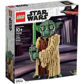 樂高積木 LEGO 2019《 LT75255 》STAR WARS 星際大戰系列 - Yoda™╭★ JOYBUS玩具百貨