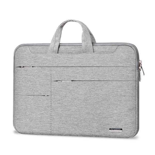 電腦包 手提筆電包適用聯想蘋果戴爾華碩華?matebook14筆記本15.6寸內膽包12男女