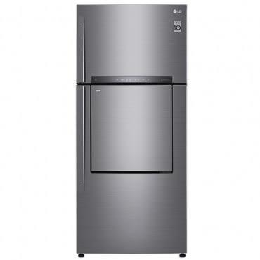 【LG樂金】525L直驅變頻上下門冰箱GN-DL567SV