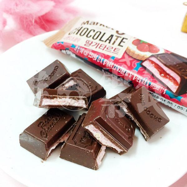 【Orion】Market O 草莓塔 巧克力棒 韓國 好麗友 草莓季