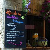 小黑板 無邊框雙面壁掛式小黑板 咖啡館菜單板價目表 寫熒光筆粉筆45*60