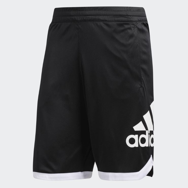 Adidas 男款專業運動籃球褲 黑-NO.DP4768