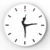 創意時鐘-會跳舞現代簡約藝術壁鐘4款72z13[時尚巴黎]
