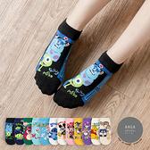 韓國襪子 英文情境迪士尼人物短襪【K0748】