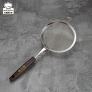 Linox不銹鋼濾網木柄15cm果汁網-大廚師百貨