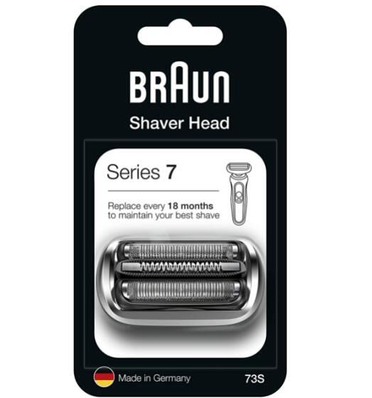 刀網 替換刀頭 Braun Series 7 73S Electric Shaver Replacement Shear Compatible with Series 7 2020