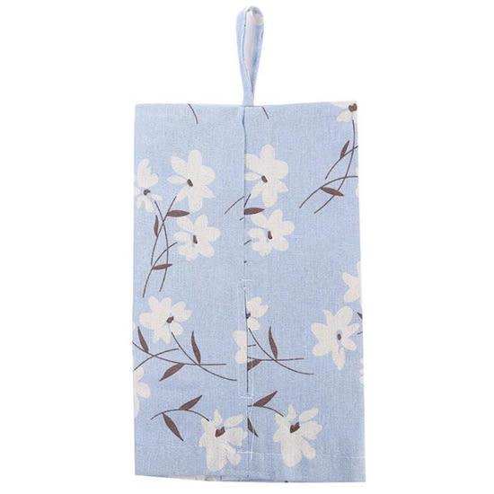 紙巾盒 紙巾套 面紙盒 面紙包 車用 可掛式 濕紙巾 衛生紙 ZAKKA 棉麻印花面紙套【X021-1】MY COLOR