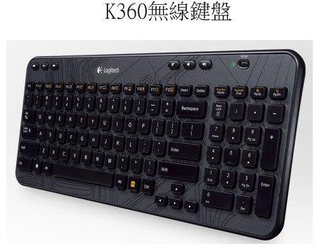 【限期3期零利率】全新  無線鍵盤 K360 此無線鍵盤具備優異的便利性且外型輕巧。