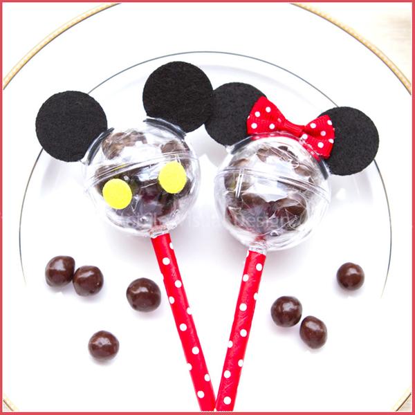 米奇米妮米果巧克力糖棒(單1支價,可選米奇或米妮)-慶生 婚禮小物 餐廳民宿活動禮贈品