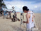 三腳架 輕便攜數碼照相機微單三腳架手機拍照自拍支架攝像三角架 送夾子  igo 歐萊爾藝術館