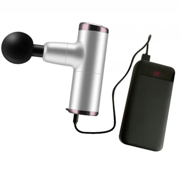 現貨110V通用 mini筋膜槍迷你口袋便攜電動按摩搶肌肉放鬆震動按摩器靜音健身槍 米希美衣