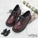 包鞋 綁帶雕花亮皮包鞋 MA女鞋 T77...