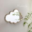 *片片吖*ins風北歐云朵造型化妝鏡子創意裝飾亞克力掛鏡拍照道具 韓國時尚週