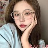 眼鏡成品眼鏡女有韓版潮網紅素顏大框透明眼鏡框ins風 芊墨