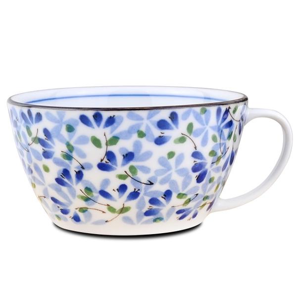 【堯峰陶瓷】日本美濃燒 芽系列 早餐湯杯 單入 營業餐廳用   送禮自用兩相宜