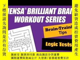 二手書博民逛書店Mensa罕見10-Minute Brain Teasers: