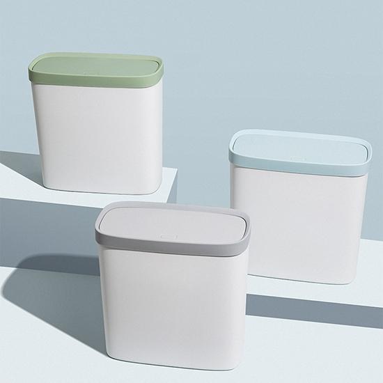 垃圾桶 垃圾筒 垃圾袋 夾縫 紙簍 收納筒 衣物筒 儲餘桶 分類桶 按壓式 隙縫垃圾桶【A031】慢思行