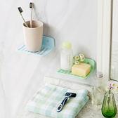 ♚MY COLOR♚吸盤式香皂置物架 日式 肥皂 衛浴 洗手 水槽 清潔 輕洗 排水 軟化 濾水【S67】