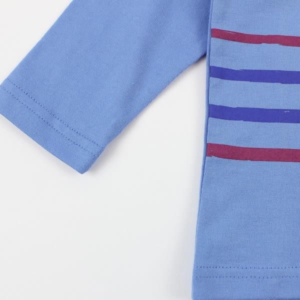 【愛的世界】純棉越野賽POLO長袖上衣/1~3歲-台灣製-n2n3 ★秋冬上著 禦寒推薦