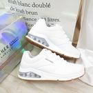Skechers UNO-AIR AROUND YON 女款 運動休閒鞋 155543WHT 白【iSport愛運動】
