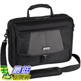 [美國直購] Targus CPT401DUS 筆電包 電腦包 平板包 Blacktop Deluxe 17吋 Laptop Case with Dome Protection, Black/Gray