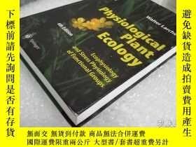 二手書博民逛書店Physiological罕見Plant EcologyY255