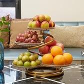 水果盤客廳家用網紅水果盤北歐風格創意ins風多層中式水果籃茶幾 - 風尚3C