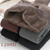 冬季加絨打底襪女秋冬款保暖加厚連褲襪奶咖咖啡淺棕色焦糖色 歐亞時尚
