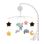 KONIG KIDS嬰兒床音樂鈴搖鈴音樂旋轉床鈴寶寶安撫布玩具-321寶貝屋