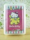【震撼精品百貨】Hello Kitty 凱蒂貓~撲克牌-箱子圖案-紅色