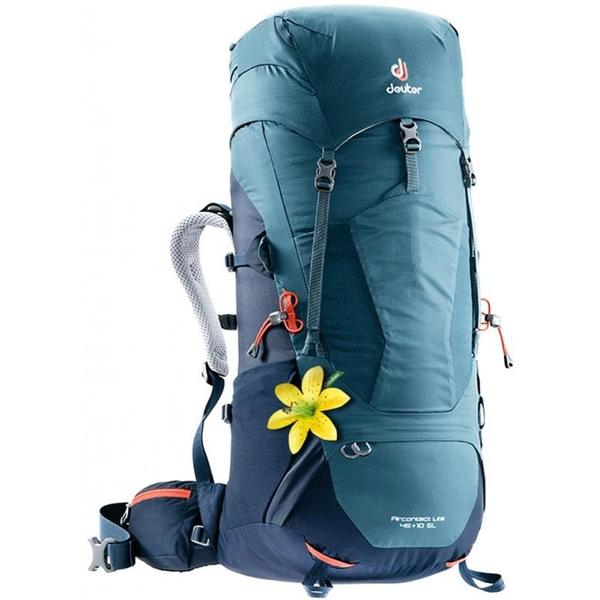 【德國 deuter】AIRCONTACT LITE 拔熱式透氣背包 45+10SL『藍』3340218 登山.後背包