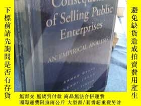 二手書博民逛書店Welfare罕見Consequences of Selling Public EnterprisesY223