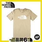 【The North Face 男 LOGO短袖棉T恤《卡其色》】4NC7/短袖上衣/圓領T/運動短袖