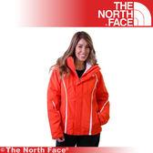 【The North Face 女 HV Heatseeker 兩件式外套《橙》】A7HX-D1T/防水/透氣/滑雪外套/保暖/抗寒★滿額送