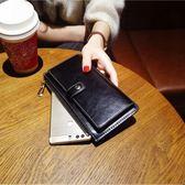 女長款手拿卡包拉鍊韓版潮可放手機一體包