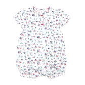 Carter s卡特 前扣式純棉短袖兔子裝 白花花 | 女寶寶連身衣(嬰幼兒/兒童/小孩)