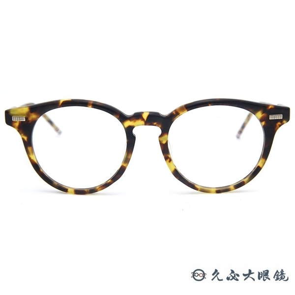 Thom Browne 眼鏡 圓框 近視眼鏡 TBX404 琥珀 久必大眼鏡